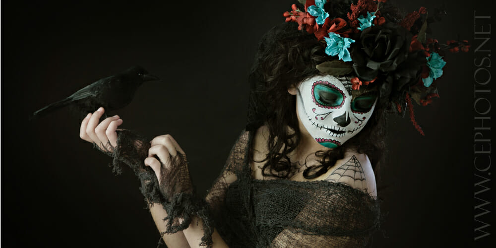 Dia De Los Muertos | Couture Model Shoot | Denver Fashion Photographer